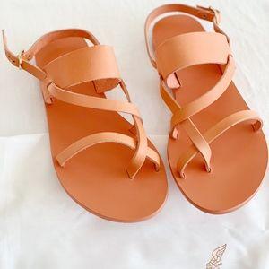 Ancient Greek Sandals Alethea Coral Peach NEW 9